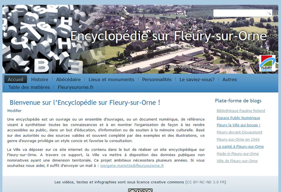 Encyclopédie sur Fleury-sur-Orne 2